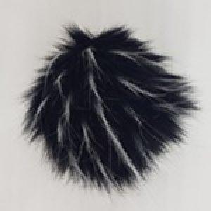 Čierna melír