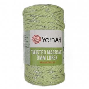 Twisted Macrame Lurex 3mm priadze 4 x 250 g