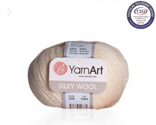Silky Wool priadze 10x25g NOVINKA