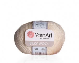 Silky Wool priadze 10 x 25 g